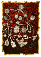 Dungeon Map 9 by GothicPrincess1974