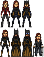 Barbara Gordon/BatGirl/Oracle by Almejito