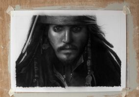 Johnny Depp - Pirates of the caribbean by jasonbrian007