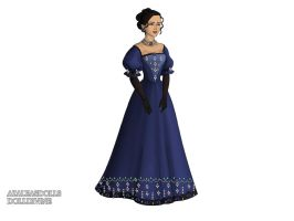 Evening Dress Redo by EverfterFan