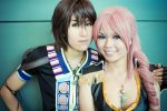 FFXIII-2: Noel and Serah by Midnight-Bliss