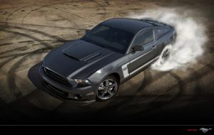 Ford Mustang Shelby GT500 Grey by Paho95
