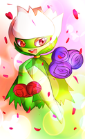 Roserade Used Petal Dance! by Right-stuff