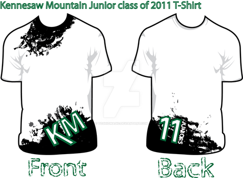 KMHS Class of '11 T-Shirt by ToshioMagic
