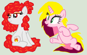 Mlp: WHAT YOU ARE A GIRL BURNFIRE? by cottoncloudyfilly