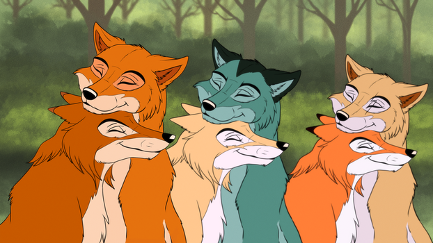 If we hold on togheter + VIDEO by EmberWolfsArt