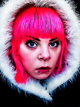 Cold Pink by donvito62