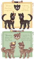 Cat and Wolf Auction - CLOSED by ghostblush