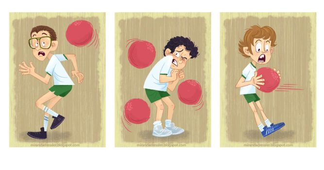 Freaks and Geeks: Lets play DODGEBALL by mirandajane