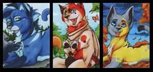 Aceo Trade Cards by ChershireHatter