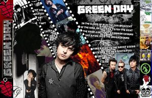 Green Day Wallpaper by xDannax