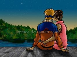 NaruTen: Puppy Love Kiss by JuPMod