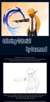 Manga coloring tutorial by Dea by Dea-89