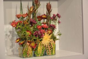 Topsfield Fair Flower Show, Flower Art 5 by Miss-Tbones