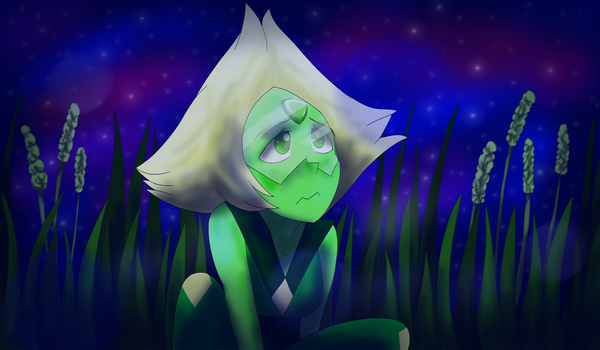 Homeworld Sick Peridot REDRAW by BowtieMySoul