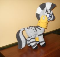 My Little Pony Zecora custom plush by MLPT-fan