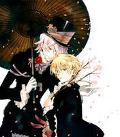 Xerxes and Oz Render by YamiHW