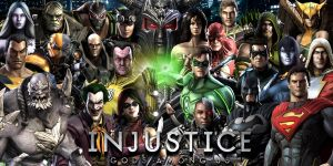 Injustice: Gods Among Us Wallpaper by Zaurask