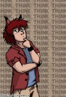 Think Think Think by spartydragon