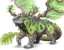 Father of Oaks-Quercus Maximus by Patchworkdove