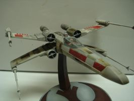 Pro-Shop X-wing Starfighter model by MillenniumFalsehood