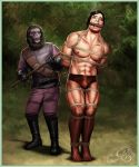 Tarzan taken prisoner by a gorilla-man by JungleCaptor