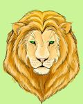 Lion Face by infamy