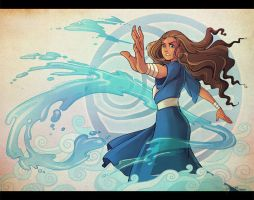 Waterbender by HanieMohd