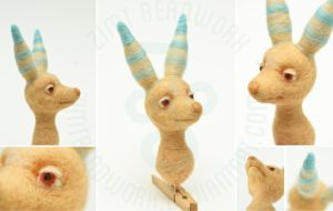 Needlefelt Schukster by ZimtBeadwork