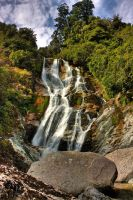 Carew Falls by Mikelyjohnsono