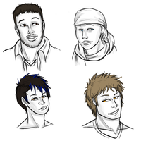 Bleach AU humans by snakes-on-a-plane
