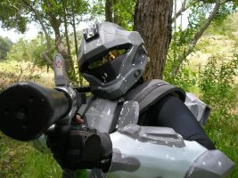 Halo 3: ODST ONI Operative by Chesca01