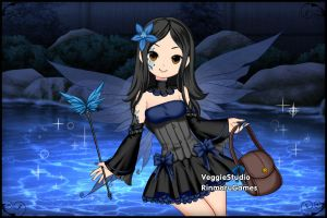 Anime Fairy Creator ~ Jessica Eagle by MiniatureBlueOwl