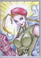 Cammy Sketchcard by StudioGoetia