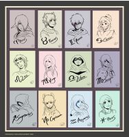 The 12 Horoscope by Onosaka-Yuha