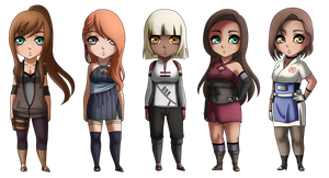 Naruto Adopt Set -CLOSED- by toomuchmusic