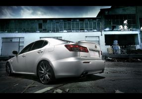 Lexus IS-F destroyed building by dejz0r