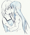 quick sketch - kiss by Suzanne98