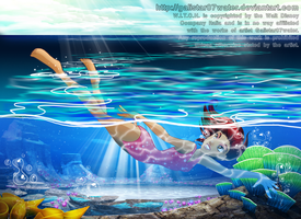A Will to Dive Into the Ocean by Galistar07water