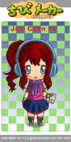 Myself as Chibi by JasiChan17