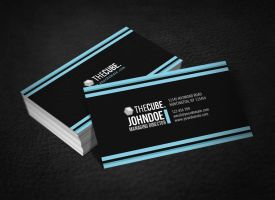 Clean Elegant Business Card by glenngoh