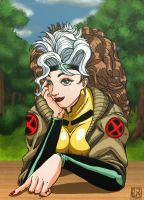 Rogue at the Park by jaredjlee