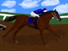The Hiest's 1st race by patchesofheaven74