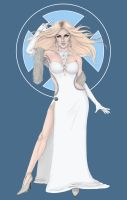 X-Fashion Emma Frost in Color by MattSimas