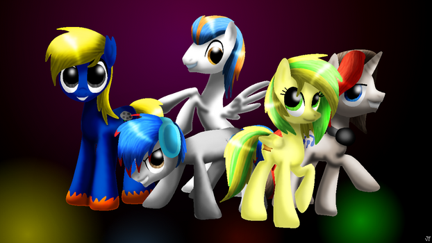 Bronies of YouTube by LupiArts