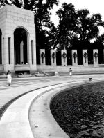 Part of WWII Memorial by Aziot