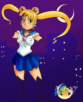Sailor Moon 20th Work in Progress by TheFloatinghat