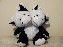 Conjoined Stuffed Cow by noxzimbyp