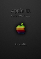 -Apple ID Carbon Wallpaper- by Hemingway81