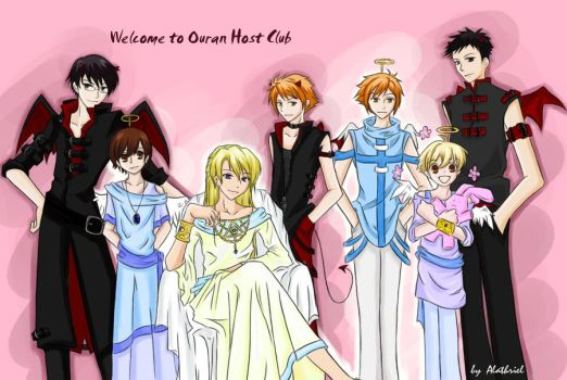 Another Ouran cosplay by Alathriel